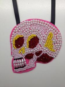 4.red & yellow skull