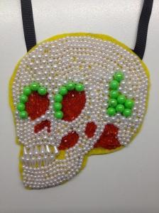 5.green & red skull