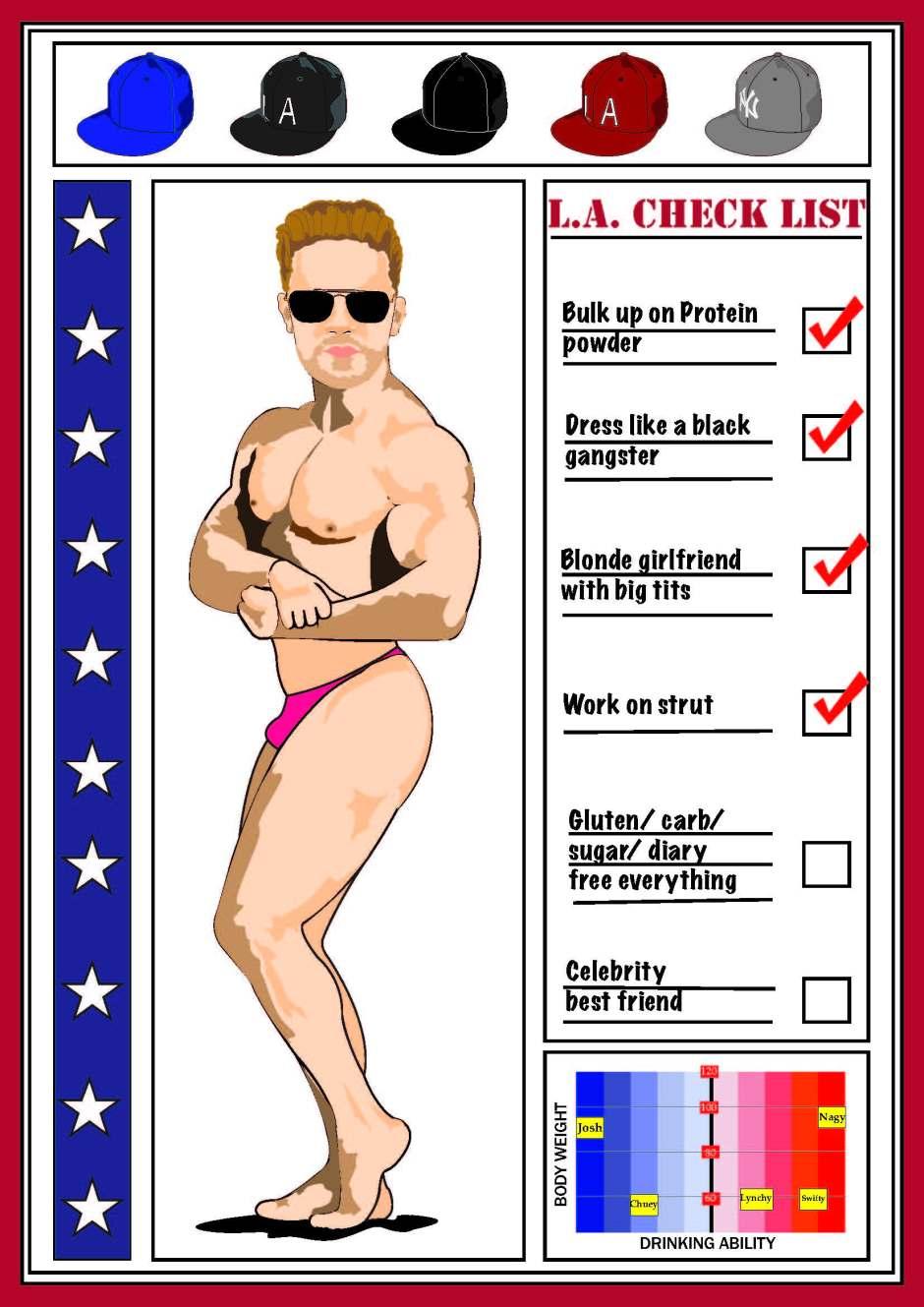 Josh.Babe card