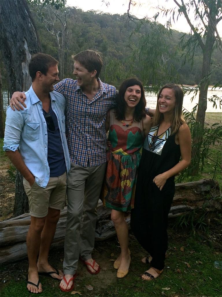 Moose, Anja, Ben & I