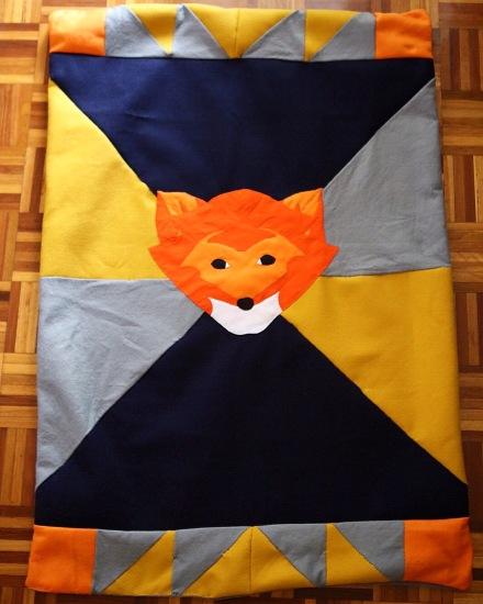 fox blanket